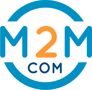 Logo M2M Volledig