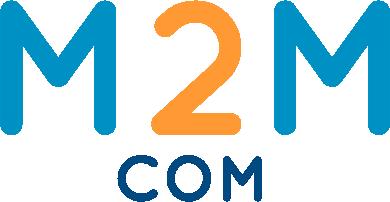 Logo M2M Gedeeltelijk